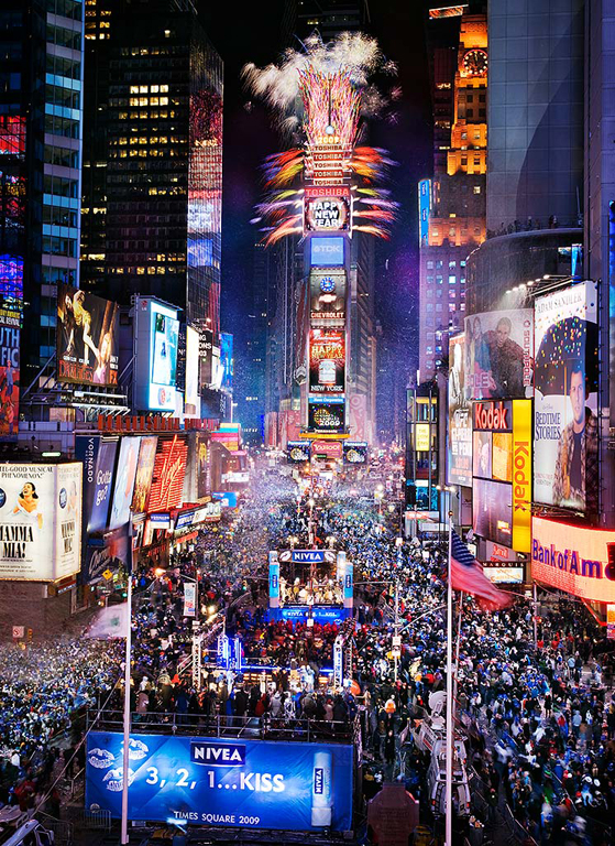 The Wolf Productions | Times Square New Year's Eve Ball Drop